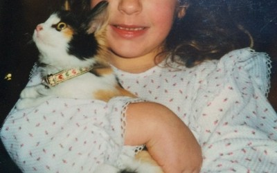 Love starts early for some people and cats