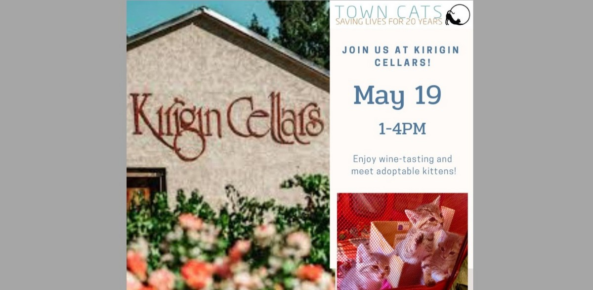 Join us May 19 at Kirigin Cellars