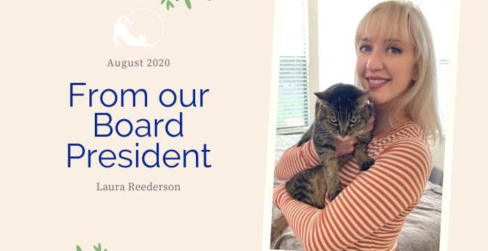 A Message from our Board President